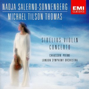 Sibelius , Jean - Violin Concerto / Chausson: Poeme (Salerno-Sonnenberg, Tilson Thomas, LSO)