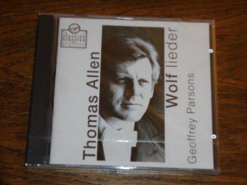Allen , Thomas - Wolf: Lieder (Parsons)
