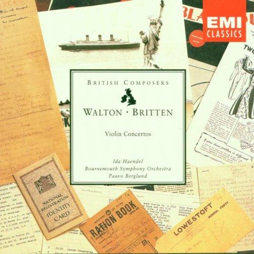 Haendel , Ida - Walton / Britten: Violin Concertos (Bournemouth Symphony Orchestra, Berglund)