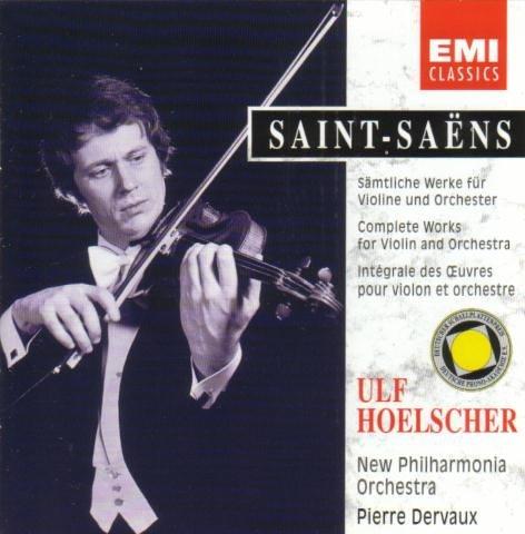 Saint-Saens , Camille - Sämtliche Werke für Violine und Orchester (Hoelscher, Dervaux)