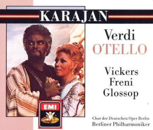 Verdi , Giuseppe - Otello (GA)(Karajan, Vickers, Freni, Glossop)