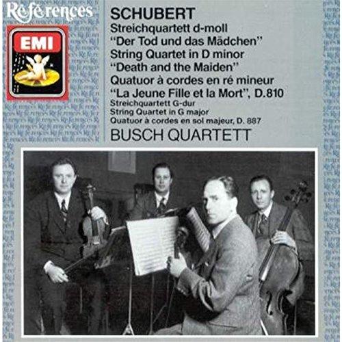 Schubert , Franz - Streichquartett D-Moll, D. 810 'Der Tod und das Mädchen' / Streichquartett G-Dur, D. 887 (Busch Quartett)