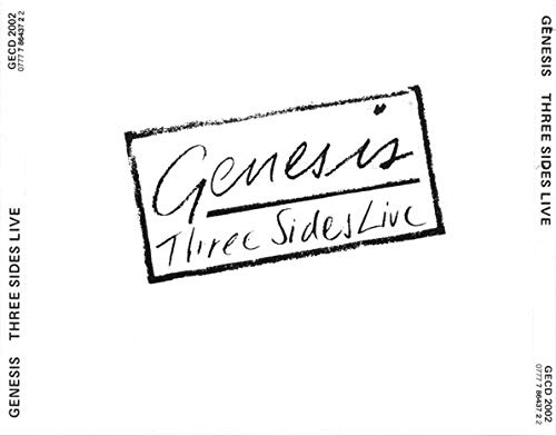 Genesis - Three Sides Live (Re-Issue)