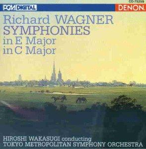 Wagner , Richard - Symphonies In E Major / In C Major (Wakasugi)