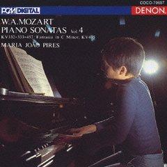 Mozart , Wolfgang Amadeus - Piano Sonatas No. 4 KV332, 33, 457 (Maria Joao Pires)