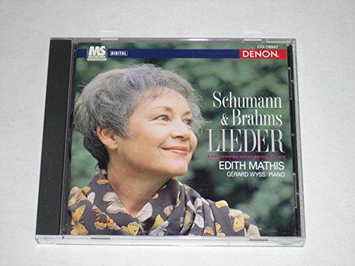 Mathis , Edith & Wyss , Gerard - Schumann & Brahms Lieder