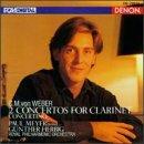 Weber , Carl Maria von - 2 Concertos For Clarinet / Concertino (Meyer, Herbig, RPO)