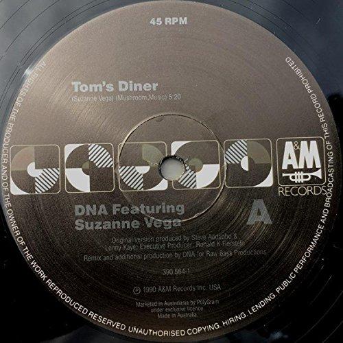 DNA - Tom's Diner (Feat. Suzanne Vega) (45RPM) (12'') (Maxi) (Vinyl)