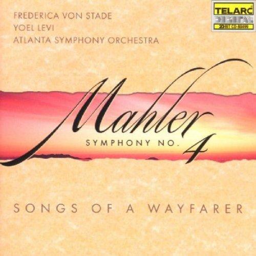 Mahler , Gustav - Symphony No. 4 / Songs of a Wayfarer (Yoel Levi, Atlanta SO, Frederica von Stade)