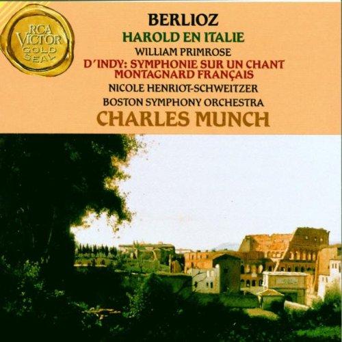 Berlioz , Hector - Harold En Italie (D'Indy: Symphonie Sur Un Chant Montagnard Francais) (Primrose, Henriot-Schweitzer, Munch)