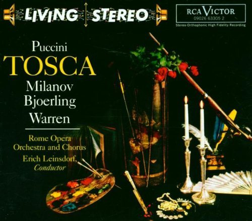 Puccini , Giacomo - Tosca (Milanov, Bjoerling, Warren, Rome Opera, Leinsdorf)