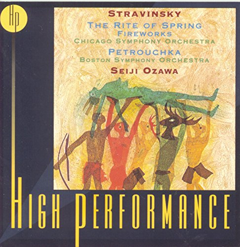 Stravinsky , Igor - The Rite Of Spring / Fireworks / Petrouchka (Ozawa)