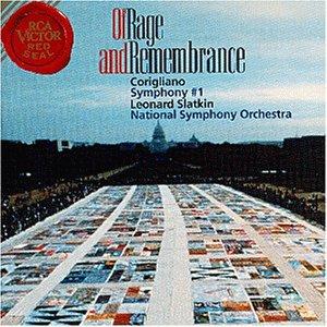 Corigliano , John - Of Rage And Remembrance / Symphony No. 1 (Slatkin, NSO)