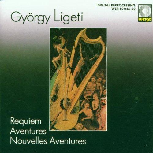 Ligeti , György - Requiem / Aventures / Nouvelle Aventures (Gielen, Maderna)