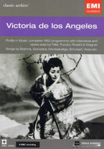 DVD - Victoria De Los Angeles - Schubert, Brahms, Falla, Puccini, Rossini, Wagner u.o.