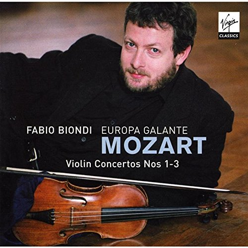 Mozart , Wolfgang Amadeus - Violin Concertos Nos. 1-3 (Biondi, Europa Galante)