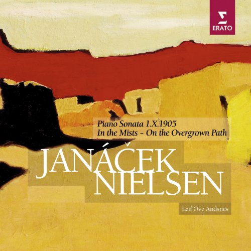 Andsnes , Leif Ove - Janacek: Piano Sonata 1.X.1905 / In The Mists - On The Overgrown Path - Nielsen: Piano Pieces