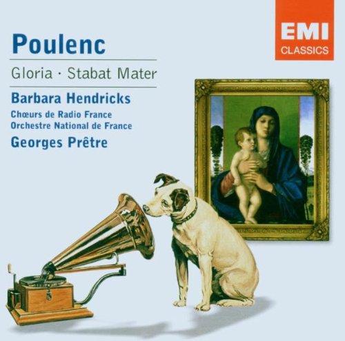 Poulenc , Francis - Gloria / Stabat Mater (Hendricks, Pretre)