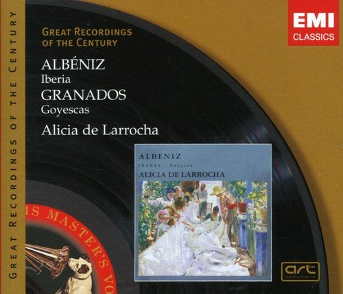 Larrocha , Alicia De - Albeniz: Iberia / Granados: Goyescas