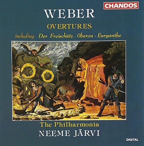 Weber , Carl Maria von - Overtures (The Philharmonia, Järvi)