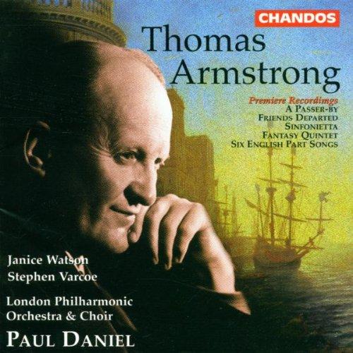 Armstrong , Thomas - Orchester- und Chorwerke (Daniel)