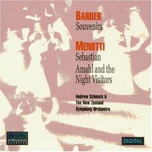 Barber / Menotti - Orchestral Works