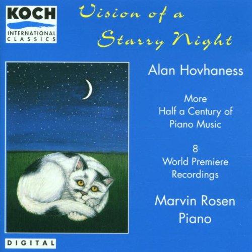 Hovhaness , Alan - Vision Of AStarry Night (More Half A Century Of Piano Music) (Rosen)