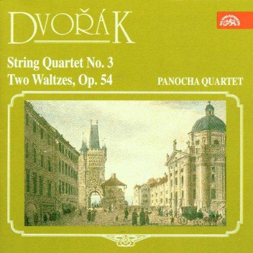 Dvorak , Antonin - Strig Quartet No. 3 / Two Waltzes Op. 54 (Panocha Quartett)
