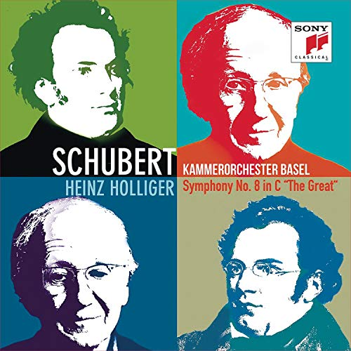 Schubert , Franz - Symphony No. 8 in C 'The Great' (Holliger, Kammerorchester Basel)