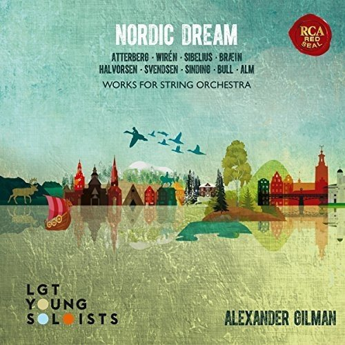 Gilman , Alexander - Nordic Dream - Works For String Orchestra