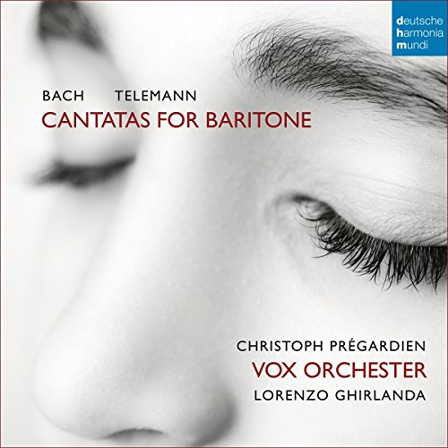 Pregardien , Christoph / Ghirlanda , Lortenzo / VOX Orchester - Cantatas For Baritone by Bach, Telemann, Fasch