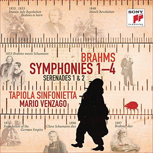 Brahms , Johannes - Symphonies 1-4 / Serenades 1 & 2 (Tapiola Sinfonietta, Venzago)