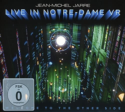 Jarre , Jean-Michel - Welcom To The Other Side: Live In Notre-Dame VR (CD Blu-ray) (Limited Edition)