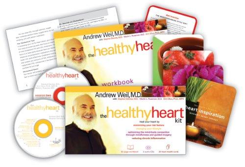 Weil , Andrew - The Healthy Heart Kit (Kartonformat - Buch + 25 Karten)