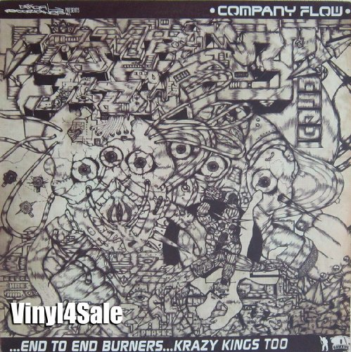 Company Flow - End To End Burners & Krazy Kings Too (Maxi) (Vinyl)