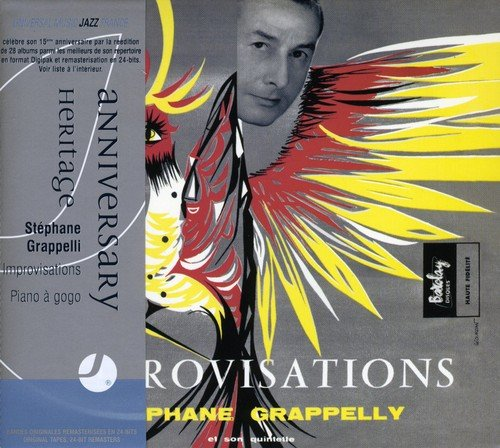 Grappelli , Stephane - Imrovisations / Piano A Go-Go (Heritage Serie)
