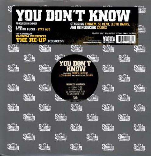 Eminem - You Don't Know (12'') (Maxi) (Vinyl)