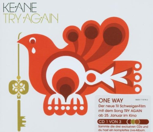 Keane - Try Again (CD1) (DigiPak)