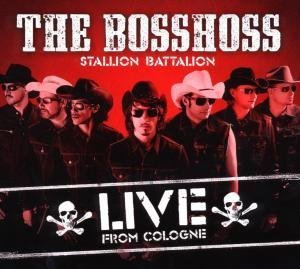 Bosshoss , The - Stallion Battalion Live (Limited Deluxe Edition)