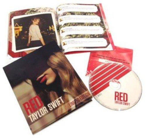 Swift , Taylor - Red (Limited Zinepack als Fan-Magazine inkl. Downloadcode für 6 Bonustracks)