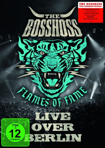 Bosshoss , The - The BossHoss - Flames Of Fame / Live Over Berlin [2 DVDs]