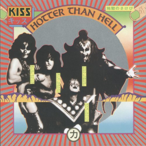Kiss - Hotter Than Hell (German Version)
