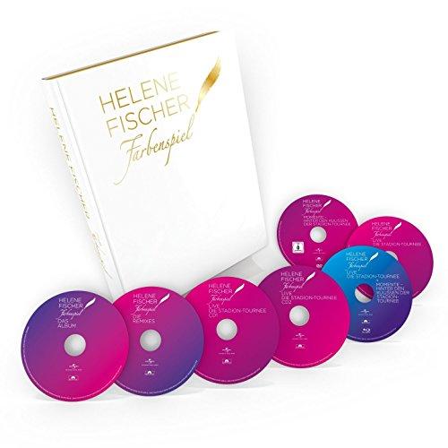 Fischer , Helene - Farbenspiel (Der Bildband 4CD 2DVD 1Blu-ray) (Limitierte Erstauflage)