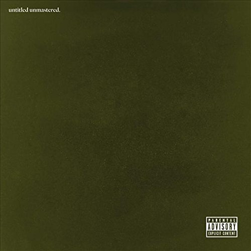 CD Cover von Kendrick Lamar - Untitled Unmastered.