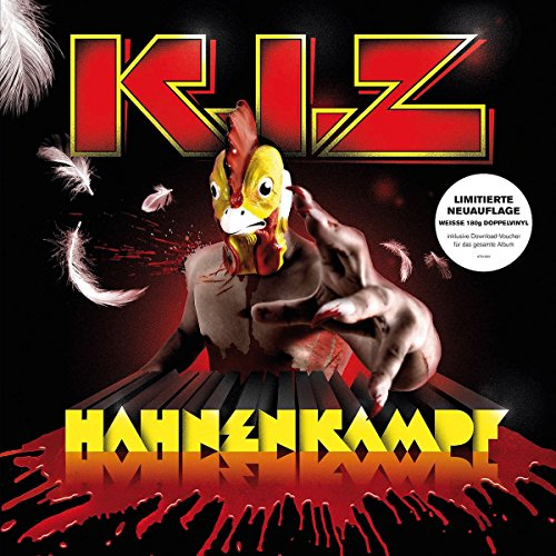 K.I.Z - Hahnenkampf (Ltd.Weiße 2lp+Mp3 Code) [Vinyl LP]
