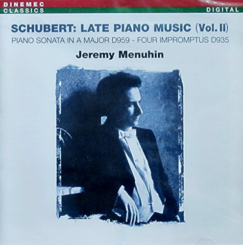 Schubert , Franz - Late Piano Music 2 (Jeremy Menuhin)