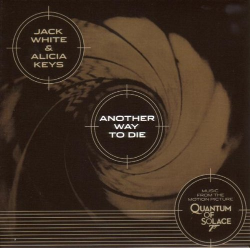 White , Jack & Keys , Alicia - Another Way To Die (From James Bond 007 - Quantum Of Solace) (45'') (Maxi) (Gold) (Vinyl)