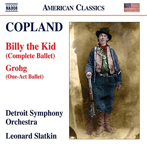 Copland , Aaron - Billy the Kid / Grohg