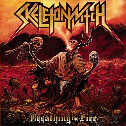 Skeleton Witch - Breathing The Fire (Limited Edition) (Fire Splatter) (Vinyl)