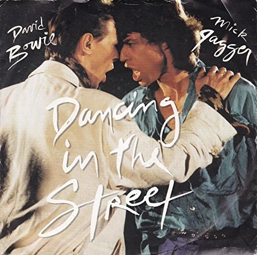 Bowie , David & Jagger , Mick - Dancing In The Street (45RPM) (12'') (Maxi) (Vinyl)